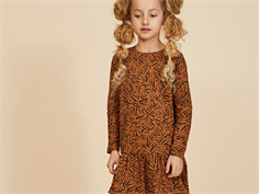 Soft Gallery dress Autum buckthorn brown tigers