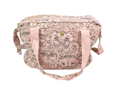 Soft Gallery diaper bag coral owl