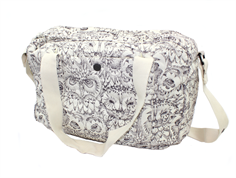 Soft Gallery diaper bag cream owl