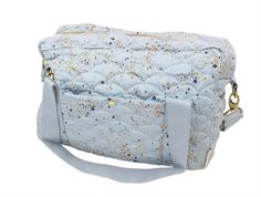 Soft Gallery diaper bag ocean gray mini splash blue