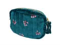 Soft Gallery shoulder bag mini quilt deep teal