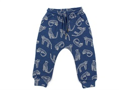 Soft Gallery sweatpants Meo majolica blue leopard