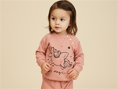 Soft Gallery Alexi rose sweatshirt down unicorn