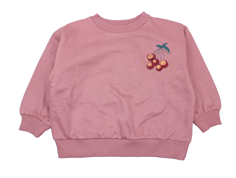 Soft Gallery sweatshirt Drew nostalgia rose berries