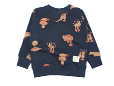 Soft Gallery sweatshirt Konrad blueberry wildwood