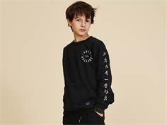 Soft Gallery sweatshirt Konrad jet black