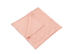 Soft Gallery baby blanket peach perfect mini splash rose