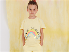 Soft Gallery t-shirt Bass french vanilla rainbow