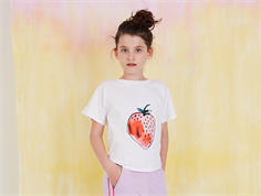 Soft Gallery t-shirt white Dominique Fraise