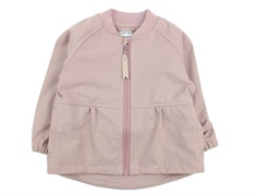 Mini A Ture softshell jacket Bridget muted lilac