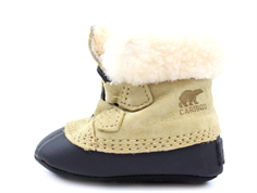 Sorel baby bootees Caribootie curry black