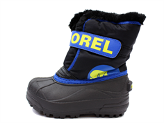 Sorel winter boot Snow Commander black/super blue