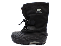 Sorel Super Trooper winter boot black/light gray