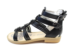 Primigi sandal nero with flowers