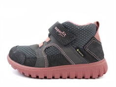 Superfit Sneaker Sports grau/pink with GORE-TEX