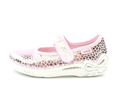 Superfit slippers Belinda pink metallic