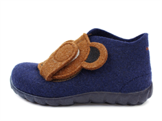 Superfit Happy slippers blau with teddy bear