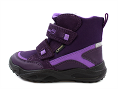 Superfit winter boot Glacier purple/purple with GORE-TEX