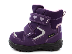 Superfit winter boot Husky purple with GORE-TEX