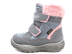 Superfit winter boot Crystal grau/pink with GORE-TEX