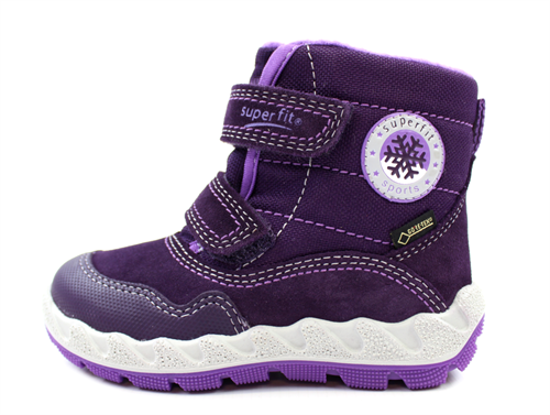 huge selection of 9efa7 cc4b8 Superfit winter boot Icebird purple/purple with GORE-TEX