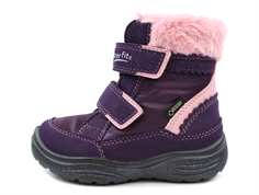 Superfit winter boot Crystal purple/pink color with GORE-TEX