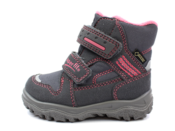 best sneakers d93a5 b7ca4 Superfit Husky winter boot stone/pink combination with GORE-TEX