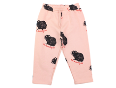Mini Rodini sweat pants parrot red