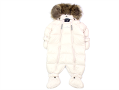 Ver de Terre baby winter suit down rose powder
