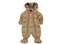 Ver de Terre baby winter suit down hazelnut