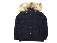Ver de Terre down winter jacket black