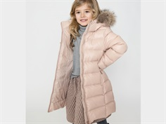 Ver de Terre down winter coat mahogany rose
