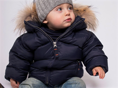 Ver de Terre baby down jacket navy