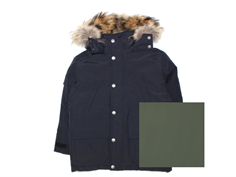 Ver de Terre winter jacket black eskimo with down