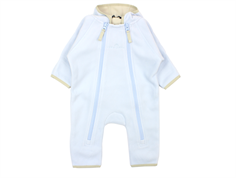 Ver de Terre fleece suit baby blue/kit
