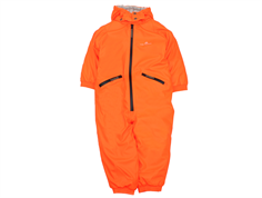 Ver de Terre rubber snowsuit spicy orange