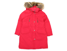 Ver de Terre girl winter coat eskimo with down cranberry