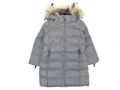 Ver de Terre girl winter coat gray melange
