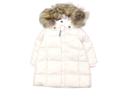 Ver de Terre baby down winter jacket rose powder