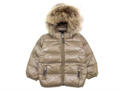 Ver de Terre baby down jacket caramel/midnight