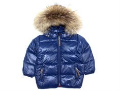 Ver de Terre baby down jacket midnight/beet