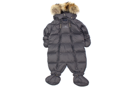 Ver de Terre baby winter suit down anthracite