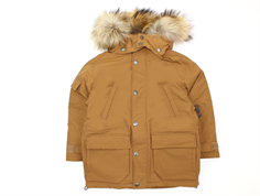 Ver de Terre Eskimo winter jacket hazelnut with down
