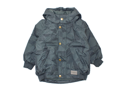 MarMar Ode winter jacket graphic chess