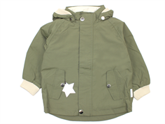 Mini A Ture Wally transition jacket deep green