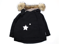 Mini A Ture Wang Fur winter jacket black