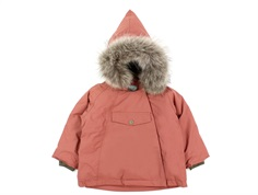 Mini A Ture winter jacket Wang Fur withered rose