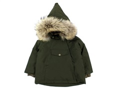Mini A Ture winter jacket Wang Fur forest night