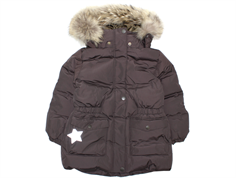 Mini A Ture winter coat Wencke Fur licorise