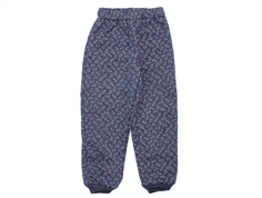 Wheat Alex thermal trousers dark blue anchor